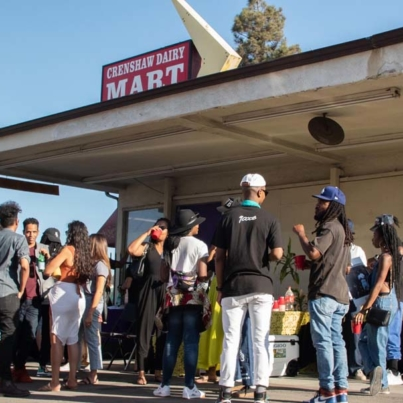 Dairy Mart Turned Art Space Rethinks Fine Arts Structure - Patrisse Cullors